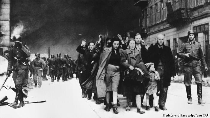 Ostatnie dni powstania w getcie warszawskim - maj 1943 roku
