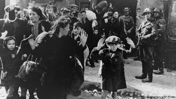 В Варшавском гетто