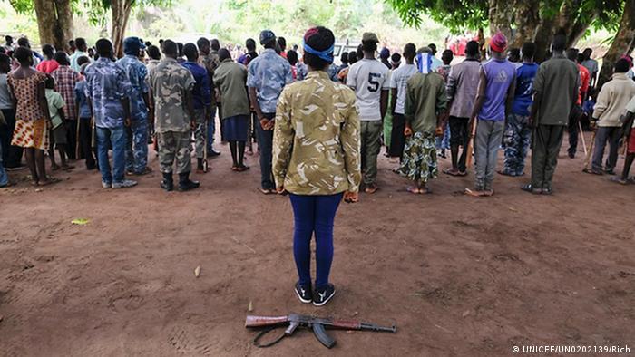 Südsudan frühere Kindesoldaten freigelassen (UNICEF/UN0202139/Rich)