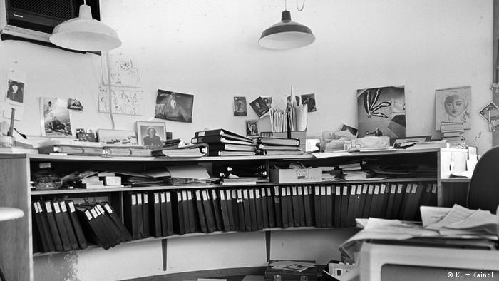 Inge Morath's studio (Kurt Kaindl)