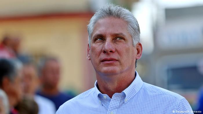 Kuba Vizepräsident Miguel Diaz-Canel (Reuters/A. Ernesto)
