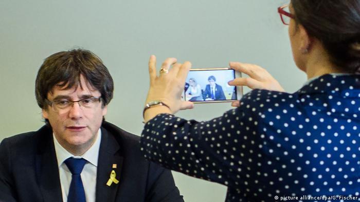 Deutschland Treffen von Junts per Catalunya in Berlin (picture alliance/dpa/G. Fischer)