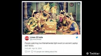 Screenshot Twitter- Limes of India (Twitter)