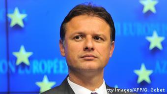 Kroatien 2011 - Außenminister Gordan Jandrokovic (Getty Images/AFP/G. Gobet)