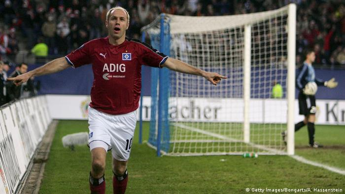 Bildergalerie HSV drohender Abstieg - Bilder historisch bis aktuell | Sergej Barbarez 2005 (Getty Images/Bongarts/A. Hassenstein)