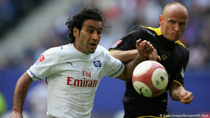 Bildergalerie HSV drohender Abstieg - Bilder historisch bis aktuell | Mehdi Mahdavikia 2007 (Getty Images/Bongarts/M. Rose)
