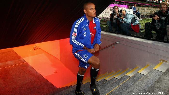 Bildergalerie HSV drohender Abstieg - Bilder historisch bis aktuell | Vincent Kompany 2008 (Getty Images/Bongarts/M. Rose)