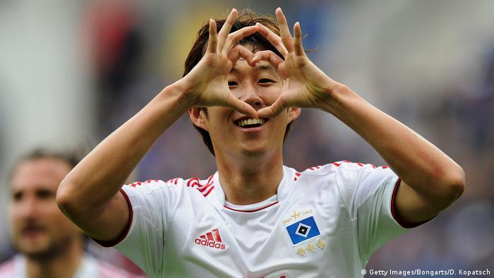 Bildergalerie HSV drohender Abstieg - Bilder historisch bis aktuell | Heung-Min Son 2013 (Getty Images/Bongarts/D. Kopatsch)