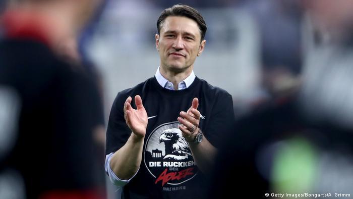 DFB-Pokal Halbfinale | FC Schalke 04 - Eintracht Frankfurt | Niko Kovac