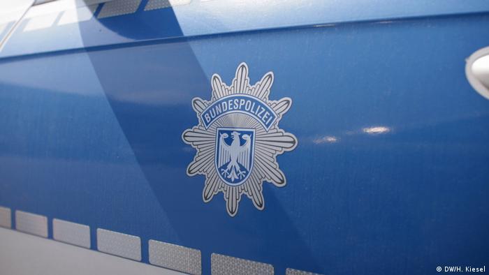 Border police car in Bavaria