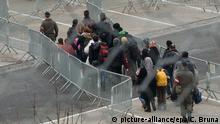 Österreich Auffanglager für Flüchtlinge