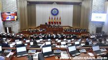 Kirgisistan Koalitionsregierung gewinnt Vertrauensvotum