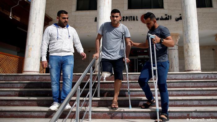 Palästina Verletzter Radfahrer aus Gaza verpasst Asiatische Spiele (Reuters/S. salem)