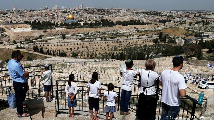 Israel Jerusalem Blick auf Tempelberg