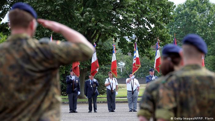 Bundeswehr soldiers in Illkirch