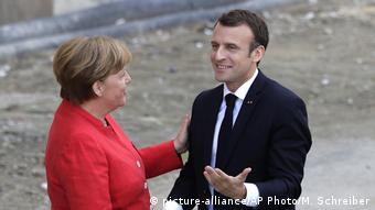 Ο γάλλος πρόεδρος Μακρόν προωθεί το μεταρρυθμιστικό του όραμα - μέχρι στιγμή δεν έχει βρει ευήκοα ώτα στο Βερολίνο