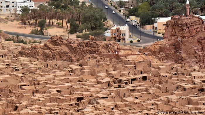 Antike Ruinen am Stadtrand von Al-Ula in Saudi-Arabien (Getty Images/AFP/F. Nureldine)