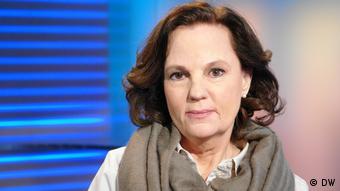 DW Sendung Quadriga Andrea Treuenfeld