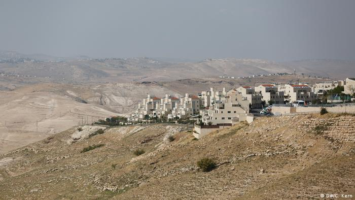 General view of the Israeli settlement of Maale Adumim