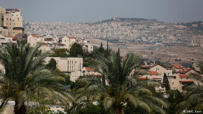 Israelische Siedlung Maale Adumim (DW/C. Kern)