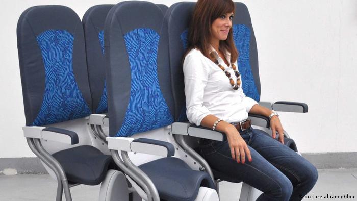 Стоячие кресла для самолетов
