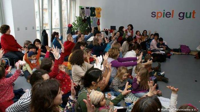 Reunión de MaMis en Movimiento e.V..