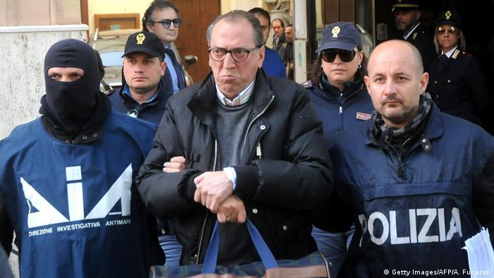 Italien Razzia in Sizilien gegen 'La Cosa Nostra'
