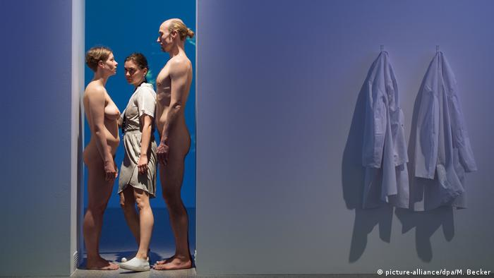 Exhibition Marina Abramovic - The Cleaner (picture-alliance/dpa/M. Becker)