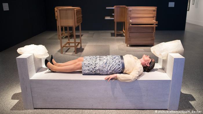 Ausstellung Marina Abramovic - The Cleaner (picture-alliance/dpa/M. Becker)