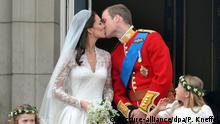 Royals Hochzeit mit Bürgerlichen England Kate und William