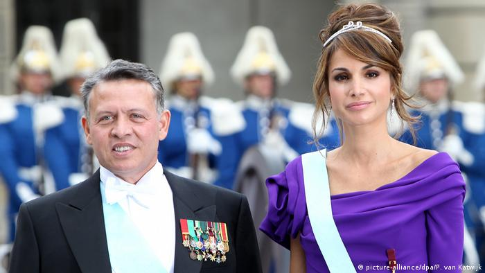 Abdullah II and Rania