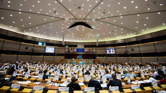 Europäisches Parlament Plenarsitzung zum EU Beitritt der Westbalkanstaaten (EU2018)