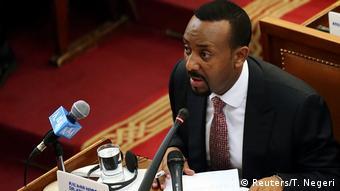 Äthiopien Amtseinführung neues Kabinett durch Premierminister Abiy Ahmed