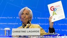 USA Beginn Frühjahrstreffen IWF und Weltbank Christine Lagarde
