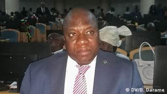 Guinea Bissau 1. Parlamantssitzung nach Krise José Pedro Sambu
