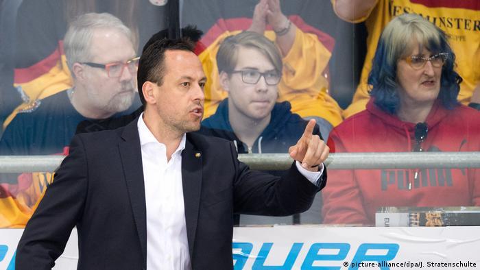 Eishockey Länderspiel Deutschland - Frankreich