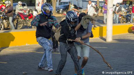 Nicaragua Proteste gegen Reform des Sozialversicherungsinstituts (imago/Agencia EFE)