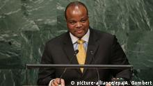 New York King Mswati III