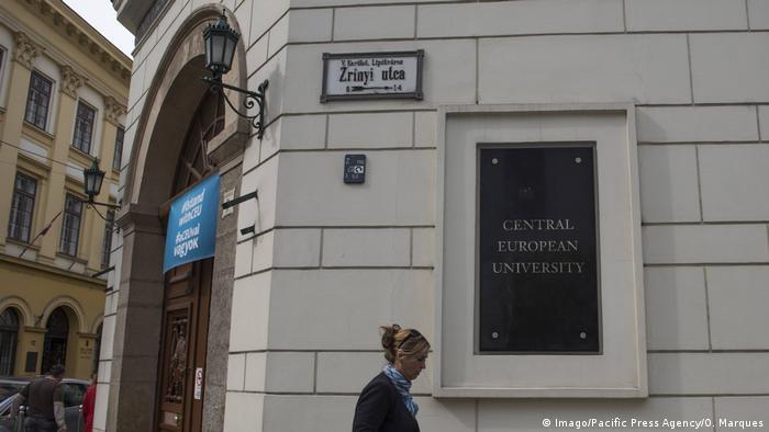 Budynek Uniwersytetu Środkowoeuropejskiego w Budapeszcie