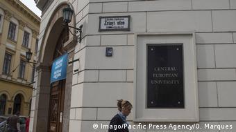 Ungarn Budapest Central European University
