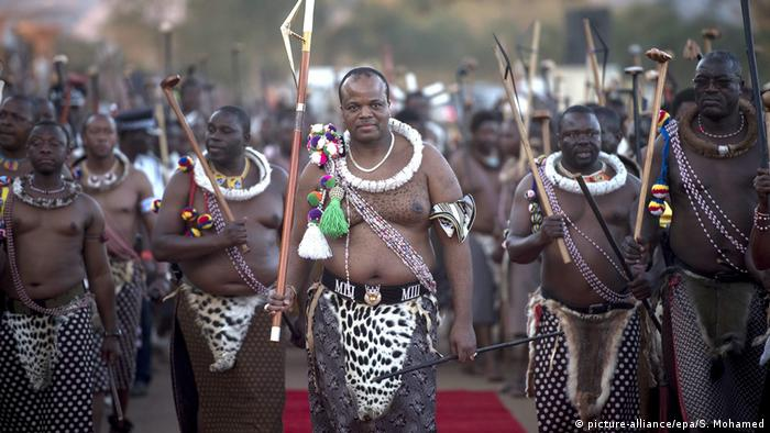 Swaziland King Mswati III (picture-alliance/epa/S. Mohamed)
