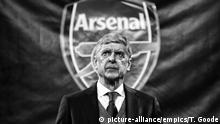 AC Milan v Arsenal - UEFA Europa League - Round of 16 - Fußball Trainer Wenger (picture-alliance/empics/T. Goode)