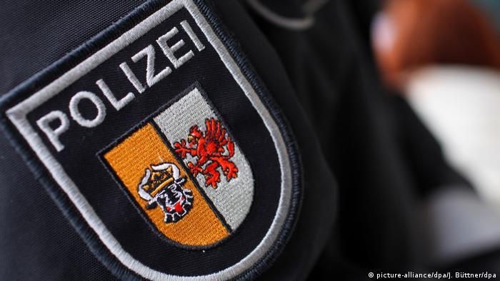 Шеврон полицейского из Мекленбурга - Передней Померании