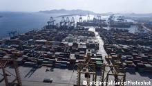 (170505) -- ATHENS, May 5, 2017 () -- Photo taken on May 3, 2017 shows the Pireaus Port's container terminal in Greece. (/Panos Tomadakis) (rh) |