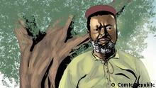 Ngungunyane (Porträt), African Roots. Copyrights: Comic Republic.