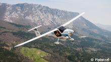 Umweltfreundliches Fliegen mit Elektroflugzeuge, Beispiel Pipistrel Alpha Electro