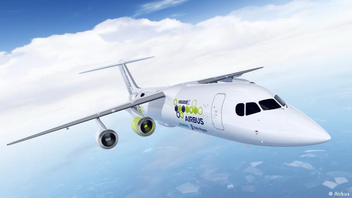 e-FanX hybrid plane (Airbus)