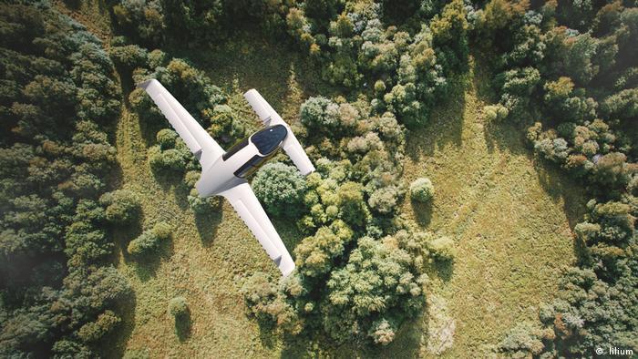 Lilium electric plane prototype (lilium)