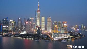 Деловая столица Китая Шанхай