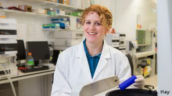Ceridwen Fraser aplicou com sucesso métodos metagenômicos em amostras de solo antártico